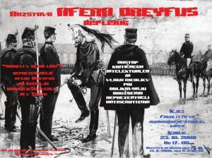 Razstava AFERA DREYFUS 1894-1906 - Plakat - FIN